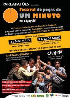 Festival de Pecas de Um Minuto - Lisboa - Portugal