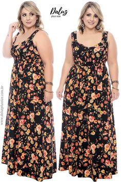 Vestido Plus Size - Alto Verão 2018 - www.daluzplussize.com.br #plussizeclothing