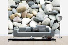 Stones and Pebbles - Tapetit / tapetti - Photowall