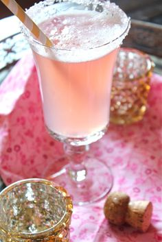 ~Pink Lemonade Champagne   The House of Beccaria