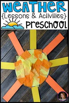 Are you looking for a fun, hands-on and engaging weather unit for your preschool classroom? Check out our weather unit. This unit has book suggestions, large group, small group, centers and independent weather activities. Weather Activities Preschool, April Preschool, Preschool Lessons, Preschool Classroom, Preschool Crafts, Fun Classroom Activities, Leadership Activities, Preschool Science, Group Activities