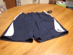 Men's swim trunks shorts Nike NEW blue 489 715824 TESS0271 S SM mesh draw string #Nike #swimshorts