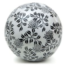 Black And White Decorative Ceramic Balls Royal Ceramic Door Knob Cupboard Drawer Door Handle  Ceramic Door