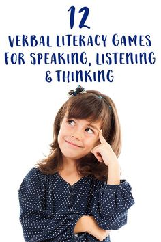 Develop speaking, listening, thinking and reasoning skills with these twelve fun verbal games to play with preschoolers, kindergarteners and bigger kids. Great for road trips and waiting times. Listening Activities For Kids, Listening Games, Games To Play With Kids, Listening Skills, Learning Games, Kids Learning, Baby Activities, Emotions Activities, Communication Activities
