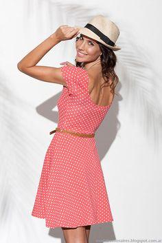 Moda primavera verano 2015 tendencas vestidos Normandie.