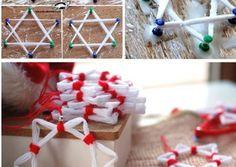 Ecco 39 fantastiche idee, con tutorial, per riciclare la lana Diy And Crafts, Arts And Crafts, Christmas Crafts, Xmas, Halloween Coloring, Lana, Dream Catcher, Origami, Triangle