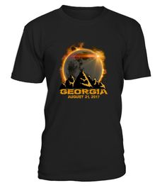 "# Georgia Total Solar Eclipse 2017 T-Shirt .      The solar eclipse of 2017 is happening in America. Get this beautiful graphic tshirt showing ths moon covering the sun, with ""Eclipse 2017"" overlayed. This is the ideal gift for astronomers or any one who is going to see the totality of the solar eclipse.  The path of the total solar eclipse crosses the United States of America on 21 August 2017, make sure you grab this tee to celebrate this magnificent event. Be the envy of your friends with…"