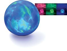 I want one of these color changing balls!!!