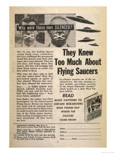 Conspiracy and Paranoia in the UFO Community