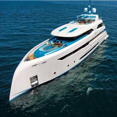 Luxury yacht design interior trip sailing and having private party on super mega boat life style for vacation and wedding on deck with style ond model of black and etc Private Yacht, Private Jet, Yacht Design, Bateau Yacht, Yatch Boat, Big Yachts, Assurance Auto, Cool Boats, Water Crafts