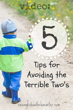 Five Tips for Avoiding The Terrible Twos by Character Ink