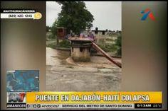 Fuerte Crecida De Río Hace Colapsar Puente Que Comunica Dajabón Y Haití