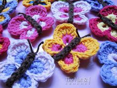 Crochet Butterflies Pattern Lots Of Ideas | The WHOot