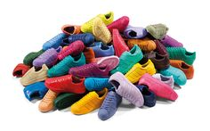 Adidas Superstar Supercolor - I want so many colors it's not even funny, I really want these.