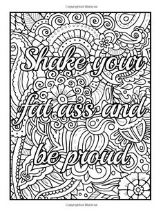 Art Therapy An Adult Swear Word Coloring Book