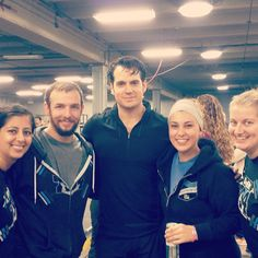 Henry Cavill - Henry Cavill poses for photos at the Michigan Barbell Classic
