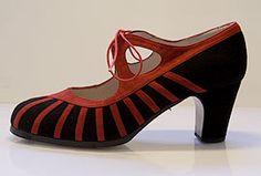 Zapato Flamenco Modelo Primor - I have these shoes - mis zapatos!!!!!!