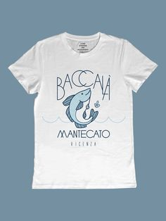 Baccalà mantecato by Emory Allen Italian Recipes, Shirt Designs, Tees, Mens Tops, T Shirt, Collection, World, Italian Foods, Culture