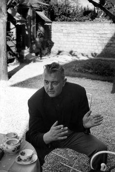 Jacques Tati by Henri Cartier Bresson, 1958