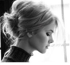 Coiffure simple et rapide-photo coiffure pour un entretien d'embauche,rendez-vous professionnel ~ Photo coiffure simple - coupe cheveux simple