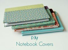 DIY Notebook Covers – Thank you gifts