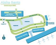 Airports In Maui Hawaii Map.12 Best Kahului Airport Images Kahului Airport Car Rental Hawaii