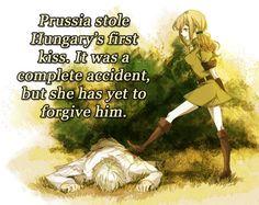 Prussia and Hungary, PruHun, Hetalia