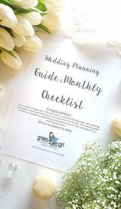 Wedding Planning Guide & Monthly Checklist- Digital File PDF DOWNLOAD: Get a start on your planning Checklist links through to Blog Posts