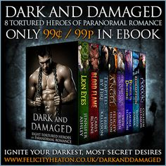 DARK AND DAMAGED: EIGHT TORTURED HEROES OF PARANORMAL ROMANCE by eight New York Times and USA Today best-selling authors is available now at just $0.99 for a limited time only! Grab this bargain boxed set that includes my angel romance, Her Sinful Angel, now at Amazon Kindle, Nook, Kobo Books and coming soon to Apple iBooks. ALL THE LINKS & MORE INFO AT: http://www.felicityheaton.co.uk/dark-and-damaged-paranormal-romance-boxed-set.php