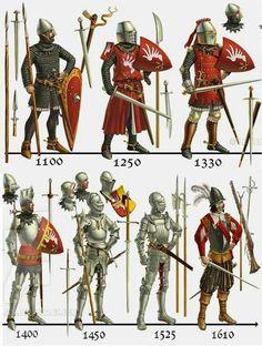 Armadura Medieval, Fantasy Armor, Medieval Fantasy, Gladiator Tattoo, Medieval Weapons, Medieval Knight Armor, Landsknecht, Armor Concept, Knights Templar