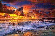 Photo On a Rocky Beach by Hendri Suhandi on 500px