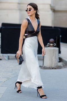 If you're not confident with colour, a well-executed monochrome look can work great for summer too.