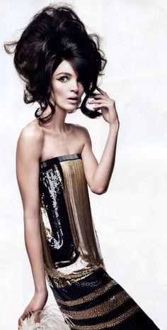 Vogue Italia, Big, bold, and beautiful!   #Hair #BigHair #Vogue #VogueItalia