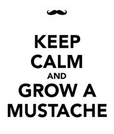 Keep Calm and Grow A Mustache Funny Humor Tshirt All Sizes and Colors | eBay