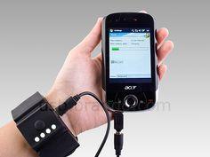 게임기, 스마트폰 등에 착~ 손목에 차는 보조 배터리... USB Wrist Band Battery :: NEOEARLY* by 라디오키즈