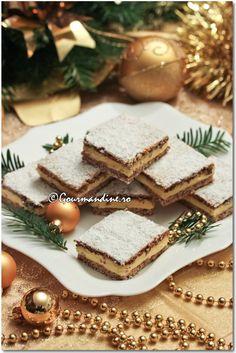 Prajitura Mimi Food And Drink, Sugar, Cookies, Cake, Desserts, Pies, Pastries, Fine Dining, Crack Crackers
