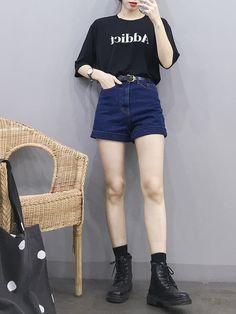 New Girl Clothes Fashion In, Korean Girl Fashion, Korean Fashion Trends, Kpop Fashion Outfits, Korean Street Fashion, Ulzzang Fashion, Korea Fashion, Korean Outfits, Cute Fashion