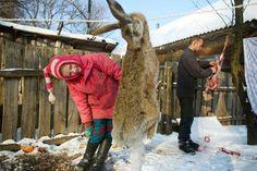 Donald Weber | Dinner. Village of Zorin, Exclusion Zone, Chernobyl