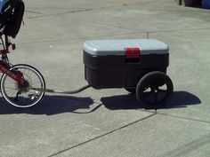Bicycle Cooler Trailer