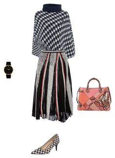 """""""Untitled #13842"""" by explorer-14576312872 ❤ liked on Polyvore featuring Armani Jeans, Emilio Pucci, Nine West, Burberry and Larsson & Jennings"""