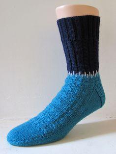 Victor Sock pattern by General Hogbuffer