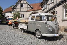 VW Double cab pickup (Fladungen,Germany)