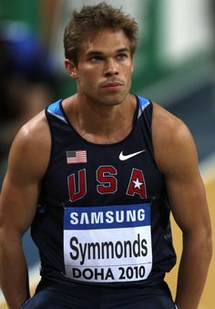 First-time Olympian Nick Symmonds is high on our list of athletes to watch this summer. Just look at him.