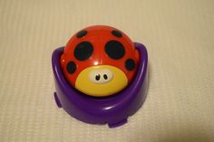 Summer Infant 3 Stage SuperSeat Positioner Replacement LADY BUG Mirror Toy #Summer