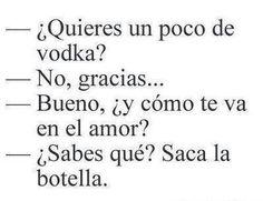 La botella, !!