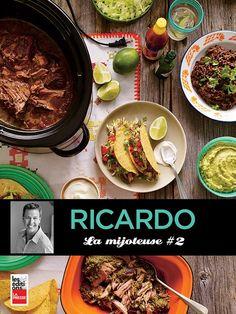 Près de 80 nouvelles recettes A la suite du succès de LA MIJOTEUSE: DE LA LASAGNE A LA CREME BRULEE, Ricardo remet ça avec près de 80 nouvelles recettes réconfortantes, surprenantes ou exotiques: plats végétariens et desserts succulents, party de tacos et buffet indien, cuisine de tous les jours et des fêtes... Peut-on vraiment faire tout cela avec une mijoteuse? Et comment! Ricardo fait la preuve que la mijoteuse est devenue un incontournable de la cuisine pour simplifier....