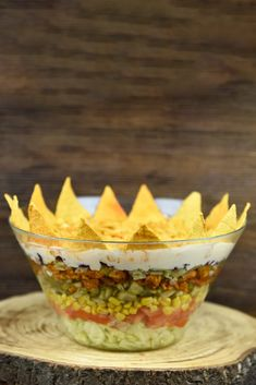 Sałatka meksykańska Dips, Party, Food, Sauces, Essen, Dip, Parties, Meals, Yemek