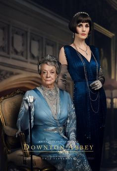 Maggie Smith, Michelle Dockery and More Stars Return to Downton Abbey in Regal Movie Posters Prepare yourselves for a refined Downton Abbey return. The beloved TV series is back with new movie posters for the upcoming film starring Maggie Smith,… Elizabeth Mcgovern, Michelle Dockery, Watch Downton Abbey, Downton Abbey Fashion, Maggie Smith Downton Abbey, Downton Abbey Trailer, Downton Abbey Costumes, Jessica Brown Findlay, Movies And Series