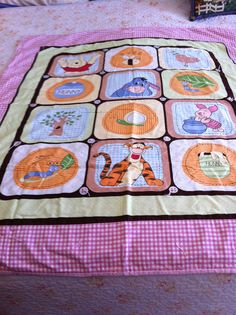 """""""A quilt for a Pooh lover"""""""