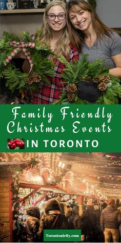 Enjoy these family friendly Christmas events in Toronto. #familyfriendlyevents #Christmas #familyevents #Toronto #ChristmaseventsToronto #holidayeventsToronto #familyeventsChristmasToronto